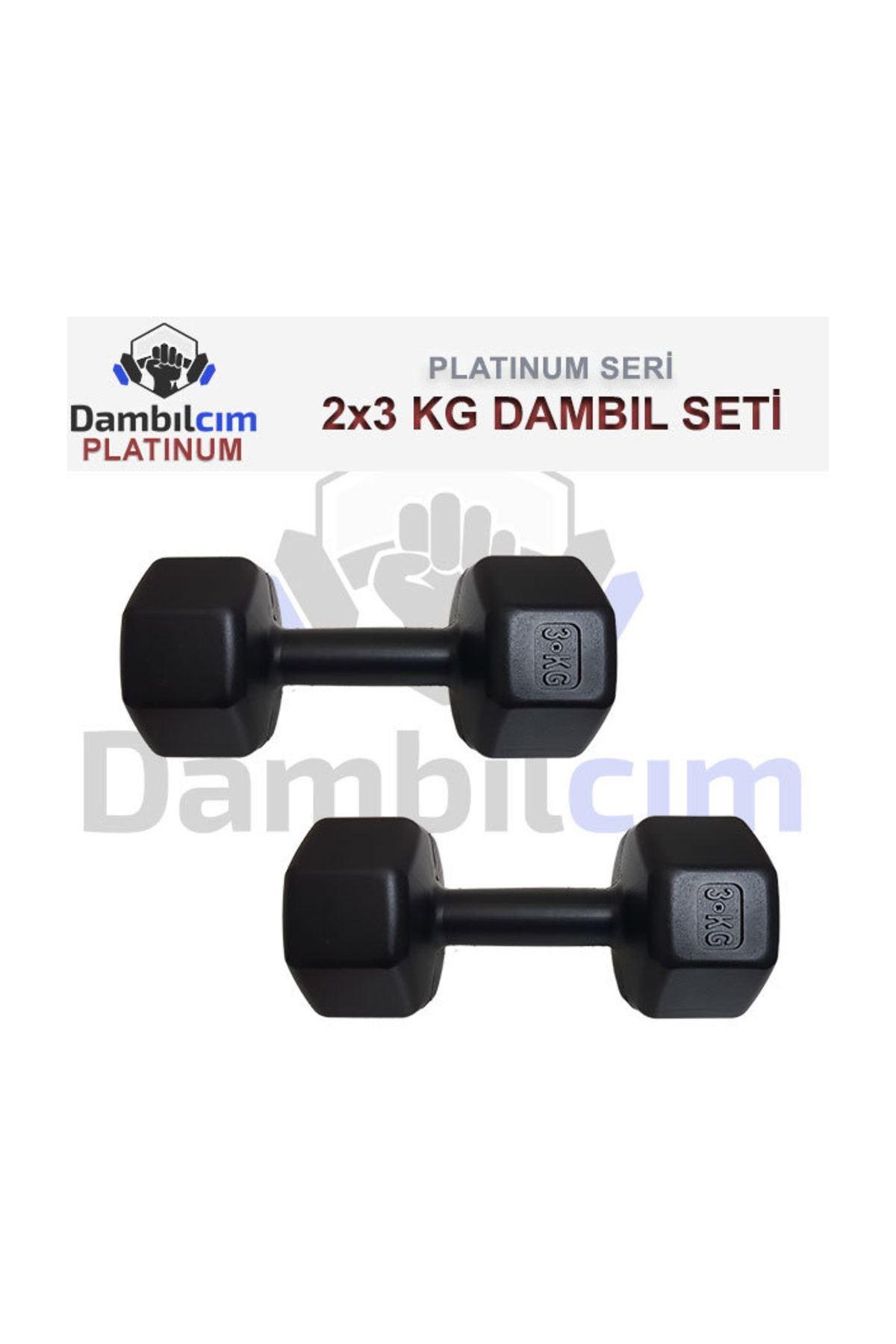 Dambılcım 3 KG x 2 Adet 6 KG Dambıl Seti 6 KG Dumbell Set
