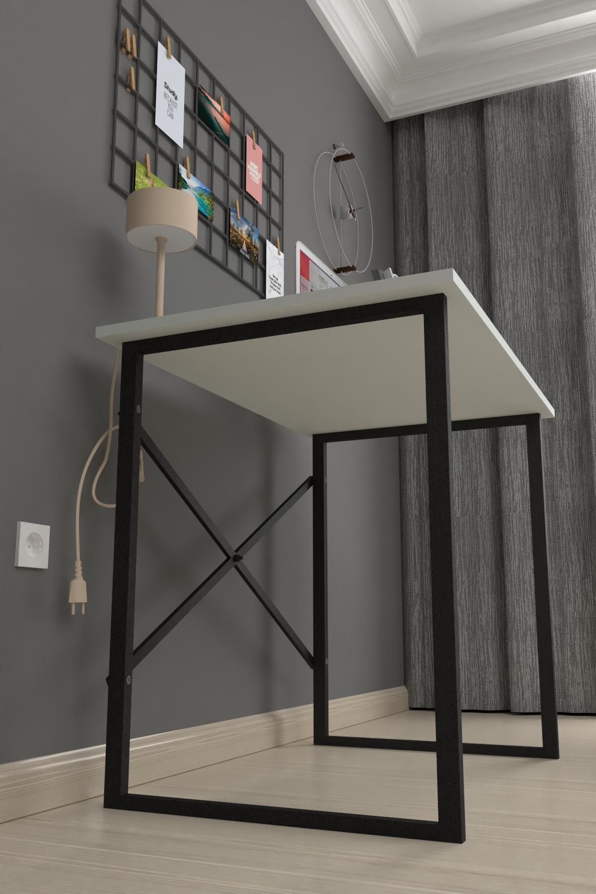Bofigo Çalışma Masası 60x90 cm Beyaz