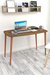 Bofigo Çalışma Masası 60x105 Cm Ceviz (Ahşap Ayaklı)